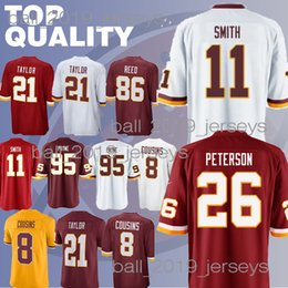 617dce092 Redskins jerseys 21 Sean Taylor Ryan 91 Kerrigan Alex 11 Smith Kirk 8  Cousins 86 Reed Derrius 29 Guice jerseys