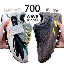 39cca8b00 Adidas yeezy boost 700 Mauve zapatillas con caja original para hombre 700  wave runner diseñador zapatillas para mujer West mejores botas de calidad  tamaño ...