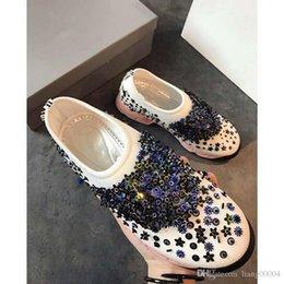 2019 nuevo diseñador de moda de alta calidad para mujer correa baja en el pecho zapatos deportivos de malla transpirable zapatos de carreras al aire libre da190404 en venta