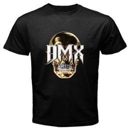 Black Shirt Loose Skull Australia - New DMX Skull Logo Rap Hip Hop Album Men's Black T-Shirt Size S-3XL T Shirt Men Loose Size T shirt Basic Models