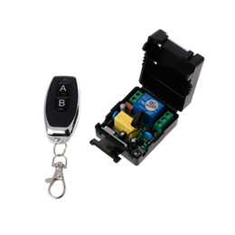 433mhz rf remote switch Australia - AC 220V 10A 1CH RF 433MHz Wireless Remote Control Switch Receiver + Transmitter Kit