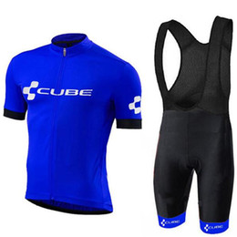 Cube Bicycle Clothing Australia - 2019 CUBE pro team Cycling Jersey set Quick Dry Men breathable Bike Clothing bicycle clothes 9D Shorts triathlon Mountain Wear Ropa Ciclismo