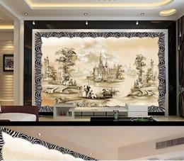 $enCountryForm.capitalKeyWord NZ - Custom Photo Wallpaper 3D Abstract European retro landscape background wall Background Mural Wall Painting Living Room Sofa TV Backdrop