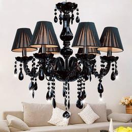$enCountryForm.capitalKeyWord NZ - Modern crystal chandelier light fixtures ceiling lustre para quarto Black Led Crystal Chandelier For Living room Bedroom Kitchen