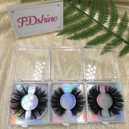 custom eyelashes Australia - 25mm Eyelashes New Styles Exotic Eye Lashes 3D Mink Eyelash Vendor Custom Lash Package Accept FDshine