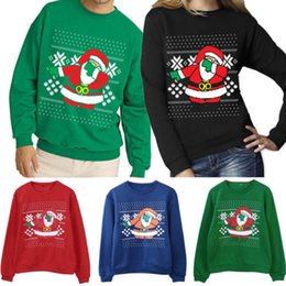 9cd96b10be08 Xmas Sweaters Ugly Christmas Sweater Couple Matching Clothes Unisex Outfits  For Lovers Women Men Autumn Winter New