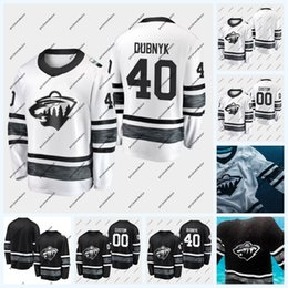 juegos de caza al por mayor-40 Devan Dubnyk Minnesota Wild All Star Game Zach Parise Brad Hunt Kevin Fiala Jason Zucker Ryan Suter Nick Seeler Jersey