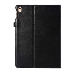 Asus Tablet Stands Australia - Imitation Leather Tablet Case Cover For ipad 5 6 With Folding Stand Dormancy Tablet Protective Shell