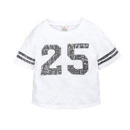 $enCountryForm.capitalKeyWord NZ - 2019 Korean children's clothing children's knit printing digital 25 casual sports loose T-shirt baseball wind