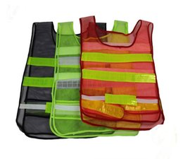 $enCountryForm.capitalKeyWord Canada - Safety Clothing Reflective Vest Hollow grid vest high visibility Warning safety working Construction Traffic vest Party Supplies SN2356