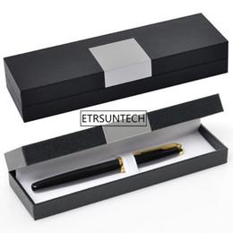 $enCountryForm.capitalKeyWord UK - wholesale Business Style Pens Packing Box Fountain Pen Case Cover Promotion Souvenir Gift Box Customizable LOGO