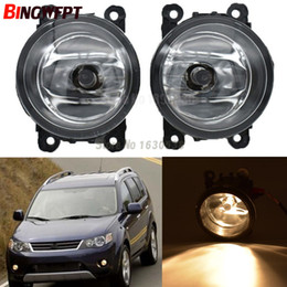 $enCountryForm.capitalKeyWord Australia - 2pcs pair Car Styling fog lamp For Mitsubishi OUTLANDER II CW_W Closed Off-Road Vehicle 2006-2009 12V H11 LED Fog Light Halogen lamps