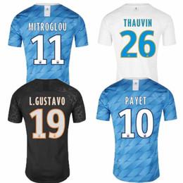 $enCountryForm.capitalKeyWord Australia - 2019 Olympique de Marseille Soccer jersey training Strootman Maillot De Foot PAYET L.GUSTAVO THAUVIN AWAY Third 19 20 Balotelli shirts black