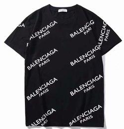 Vente en gros Hommes Femmes T-shirts balanciaga T-shirts T-shirts tout-aller pour hommes occasionnels à manches courtes T-shirts imprimés