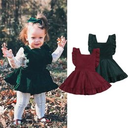 SuSpenderS for girlS 4t online shopping - Lovely Toddler Kids Baby Girl Party Strap Sleeveless Corduroy Dress New Spring Autumn Corduroy Suspender Dress For Baby Girls