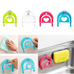 $enCountryForm.capitalKeyWord Australia - New Cute Sponge Holder Suction Cup Convenient Home Kitchen Holder Tools Gadget Decor with High Quality Free Shipping