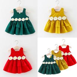 $enCountryForm.capitalKeyWord Australia - USA Kids Baby Girl Princess Lace Floral Tulle Dress Birthday Party Wedding Pageant Formal Tutu Clothes