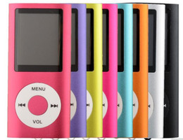 Pink Radios Australia - Mp4 Player 8-colors 4th 1.8 screen MP4 video Radio music movie player SD TF card with Radio