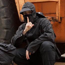 Wholesale camo parka for sale – winter 19FW MENS Designer Riot Mask Tactical Clothing Camo Mountain Parka Jacket Windproof Men Women Coat Street Casual Sport freeF2M2