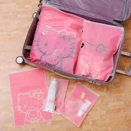 $enCountryForm.capitalKeyWord Australia - Cartoon Hello Kitty Travel Cosmetic Bag Women Men Makeup Zipper Make Up Organizer Storage Pouch Toiletry Beauty Wash Bath Case