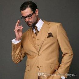$enCountryForm.capitalKeyWord NZ - Classic Cheap Three Pieces Men Wedding Suit Slim Fit Modern Wedding Blazer Custom Made Formal Wear Prom Suit (Jacket+Pant+Vest)