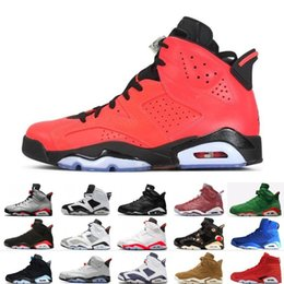 Table Cat Box Australia - Cheap 2019 Bred 6 6s Mens Basketball Shoes Infrared 23 3M Reflective Bugs Bunny Tinker Black Cat Flint Men Sports Sneakers Designer Trainers