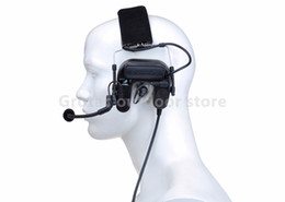 Wholesale Earphone Element ZCOMTAC Z-TAC U tactical Noise-canceling Headphones Walkie-talkie Military Hunting Tactical Headset