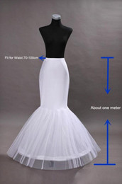 $enCountryForm.capitalKeyWord Australia - New Cheap Hot 1 hoop Net Petticoat Wedding Dress Mermaid Crinoline Prom Evening Dresses Petticoats Bridal Wedding Accessories