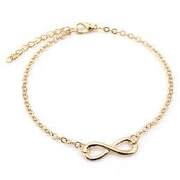 Wholesale Original Fashion Sandal Barefoot Beach Foot Anklet Infinity Ankle Bracelet Women Jewelry