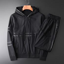 $enCountryForm.capitalKeyWord Australia - Male Jacket Three-dimensional Cutting Leather Setting 2-piece Hooded Jacket Men Youth Autumn New Slim Fit Man Jackets 3XL 4XL