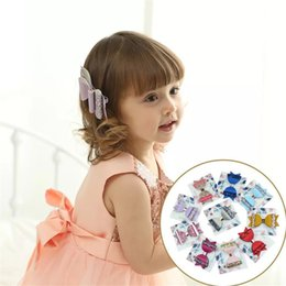Baby Sequin Hair Clips Wholesale Australia - Free DHL Shipping Girl Hair Clips Sequins Floral baby Hairclips kids designer Hair Accessories Cartoon Fish Barrettes Baby Designer Hairpins