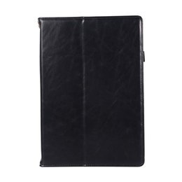 Genuine Leather China Australia - Classic Half Genuine Leather Tablet Protective Cover For Huawei M5 10.8 With Shockproof Tablet Case Protective Case