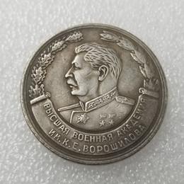 Russia Coins Copies Australia - CCCP Russia Stalin Joseph 1 Russian Ruble Copy Coin