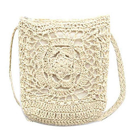 $enCountryForm.capitalKeyWord UK - Designer-Women Cute Crochet Sling Beach Summer Purse Straw Shoulder Handbag