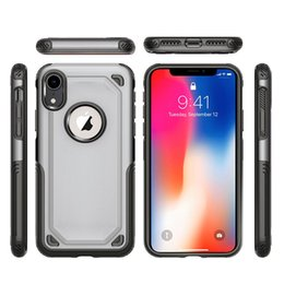 011ad13ca3 2 in 1 Hybrid Armor Case Rugged Shockproof Defender Phone Cases Cover for iPhone  X XR XS Max 8 7 6 6S Plus