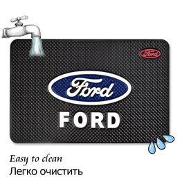 Опт Стайлинга автомобилей анти-скольжения коврик анти-пропустить автомобиль коврик Коврик наклейка для автомобиля Ford украшения украшения аксессуары
