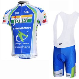Discount bikes merida cycling team - High quality team MERIDA Cycling Jersey Set Short Sleeves shirt bib shorts suit Summer Bike MTB Clothing Bicycle Sports