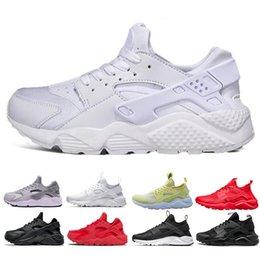 check out 05899 6205f Nike air huarache Huarache Ultra Run zapatos triple blanco negro rojo  hombres mujeres zapatos corrientes amarillo gris Huaraches deporte zapato  para mujer ...