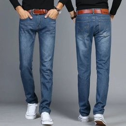 $enCountryForm.capitalKeyWord NZ - Men 'S Fashion Slim Fitting Casual Pants from UCLA Jeans plus Size Stylish Original striaght Call a Generation of Fat Denim Men'
