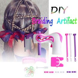 Rollers Hair Machine Australia - Electric Automatic Hair Braider DIY Stylish Braiding Hairstyle Tool twist braider Machine Hair braid Weave Roller Twist For Girl
