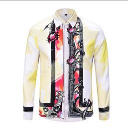 Shirts Stand Up Collars Australia - Free shipping - stand-up collar long-sleeved shirt collar hit color cotton men's Slim long-sleeved s