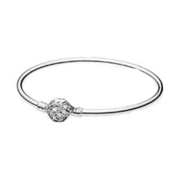charm jewelry limited Australia - MANDY New 100% Silver 925 Limited flowering HEART PADLOCK BRACELET adjusts European Charm Jewelry