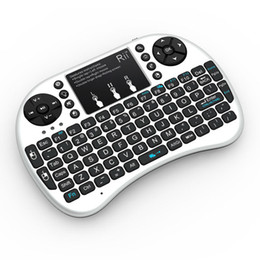 Media Player For Pc Australia - i8 2.4G Air Mouse Wireless Mini Keyboard with Touchpad Remote Control Gamepad for Media Player Android TV Box HTPC MXQ Pro M8S X96 Mini PC