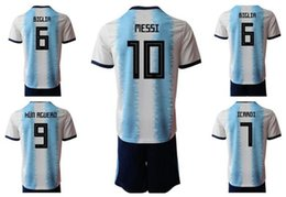 Discount jersey sets - Personality 19-20 Customized 9 Icardi Soccer Jersey Sets With Shorts, Custom men 10 messi 21 Dybala 10 Messi 7 Benedetto