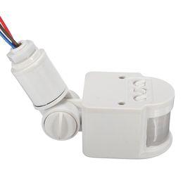 Flood Switch Australia - 2019 New PIR Flood Light Infrared Sensor Body Sensor Switch - Black (opening 16mm)
