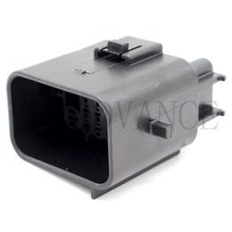 $enCountryForm.capitalKeyWord Australia - Black 20 Pin Waterproof Electrical Terminal Amp Male Connector 936780-2