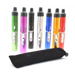 $enCountryForm.capitalKeyWord UK - Sneak A Vape Click N Vape Mini Herbal Vaporizer Smoking Pipe with Built-in Wind Proof Torch Lighter--Gift pocket