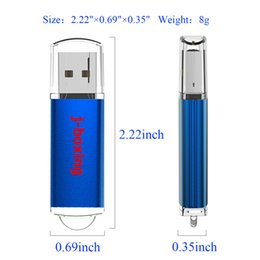 laptop gb UK - Blue Rectangle 64GB USB Flash Drive High Speed Memory Sticks 64gb Flash Pen Drive Thumb Pen Storage for Computer Laptop Macbook Tablet