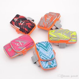 $enCountryForm.capitalKeyWord Australia - New Style 5Colors Sports Arm Band Case GYM Pouch Sport Belt Armband Night Running Bag for Iphone 6 Plus Samsung Galaxy S6 Edge