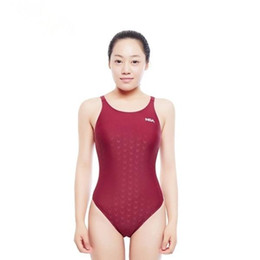 One piece swimwear cOmpetitiOn online shopping - Summer Swimwear Girls Kids Racing Competition Training Swimsuit Waterproof Women S Professional Swimwear Bathing Suit New Apparel